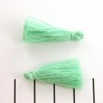 kwastje 28 mm - groen