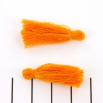kwastje 30 mm - oranje