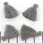 kwastje 24 mm - graphite grijs