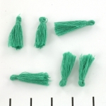 tassel 19 mm - green