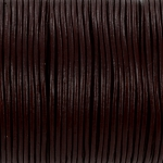 leather 1 mm - bordeaux