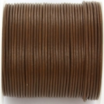 leather 2 mm - hazelnut