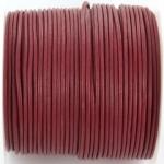 leather 2 mm - fuchsia