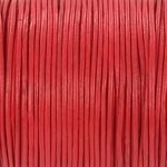 leather 1 mm - candy red