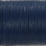 leather 1 mm - denim blue