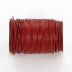 leather 1 mm - red