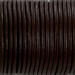 leather 2 mm - dark brown