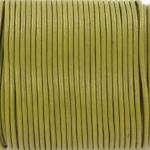 leer 2 mm - khaki groen