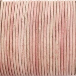 leer 2 mm - light pink distressed