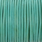 leer 2 mm - mint groen