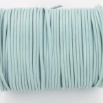 leather 2 mm - pastel baby blue
