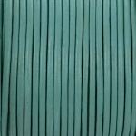 leather 2 mm - aqua