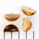 veterklem ovaal - goud 20 mm