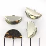 veterklem ovaal - zilver 20 mm
