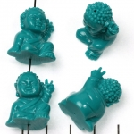 young buddha peace - turquoise