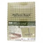 macrame bord - Small 7.5 x 10.5 inch
