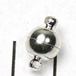 magnetisch slotje supersterk - 8 mm lichtzilver