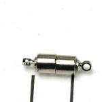 magnetisch slotje supersterk - 17 mm zilver