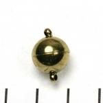 magnetisch slotje supersterk - 12 mm antiek goud