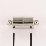 langwerpig magnetisch slotje sterk - zilver vierkant