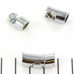 slot boogsluiting 22 mm - zilver