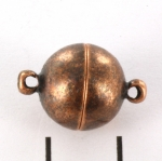 magnetic lock super strong - 12 mm antique copper