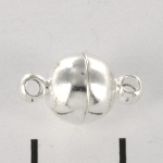 magnetic clasp super strong - 8 mm light silver