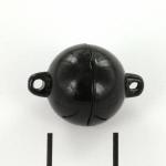 magnetisch slotje supersterk - 12 mm zwart