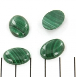 cabochon 18 x 13 mm - Malachite