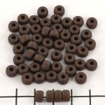 Matubo rocaille 2/0 (6 mm) - matte dark bronze