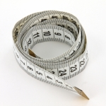 measuring tape - white 150cm