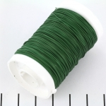 metal wire - 0,35 mm green