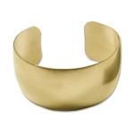 cuff armband metaal - goud 29 mm