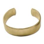 cuff armband metaal - goud 20 mm