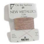 metaal draad - rose goud