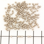 Czech faceted round 2 mm - pastel light brown