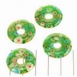 millefiori donut - groen