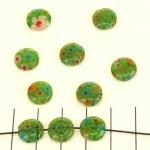 millefiori rond - groen