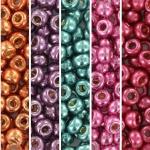 miyuki seed beads 6/0 - tropical