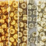 miyuki seed beads 6/0 - basic de luxe