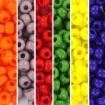 miyuki rocailles 6/0 - rainbow