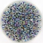 miyuki berry bead - noir lined crystal ab