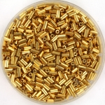 miyuki bugles 3 mm - 24kt gold plated