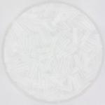 miyuki bugles 6 mm - crystal
