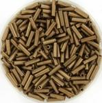 miyuki bugles 6 mm - metallic matte dark bronze