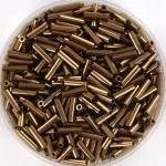 miyuki bugles 6 mm - metallic dark bronze