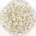 miyuki cubes 1.8mm - silverlined crystal