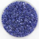 miyuki cubes 1.8mm - royal blue lined crystal