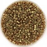 miyuki cubes 1.8mm - topaz gold luster