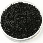 miyuki cubes 1.8mm - opaque matte black